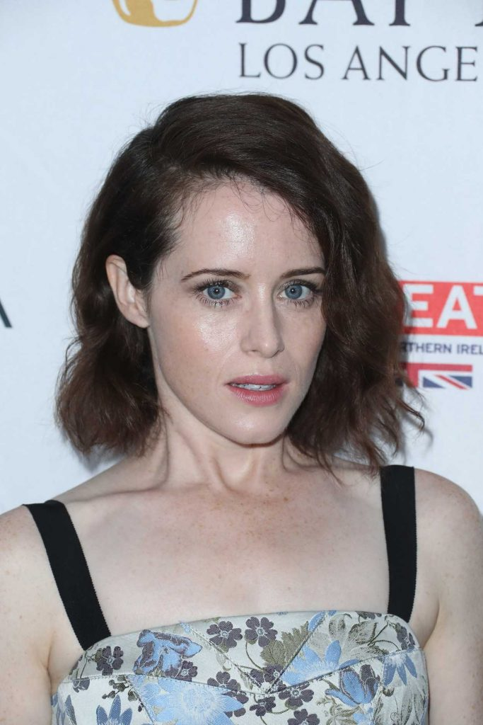 Claire Foy at BAFTA Tea Party in Los Angeles 09/16/2017-4