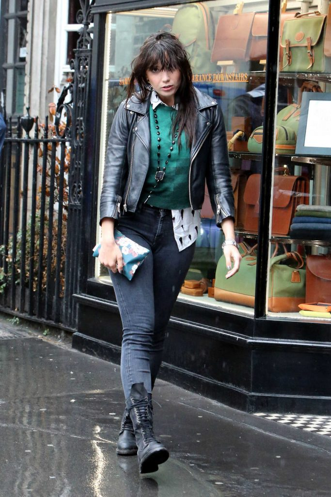 Daisy Lowe Out Shopping in London 08/30/2017-1