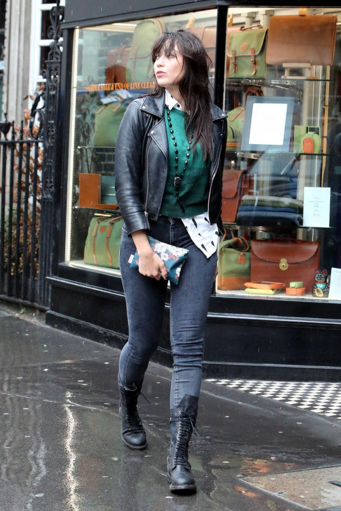 Daisy Lowe Out Shopping in London 08/30/2017-2