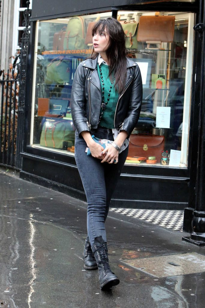 Daisy Lowe Out Shopping in London 08/30/2017-3