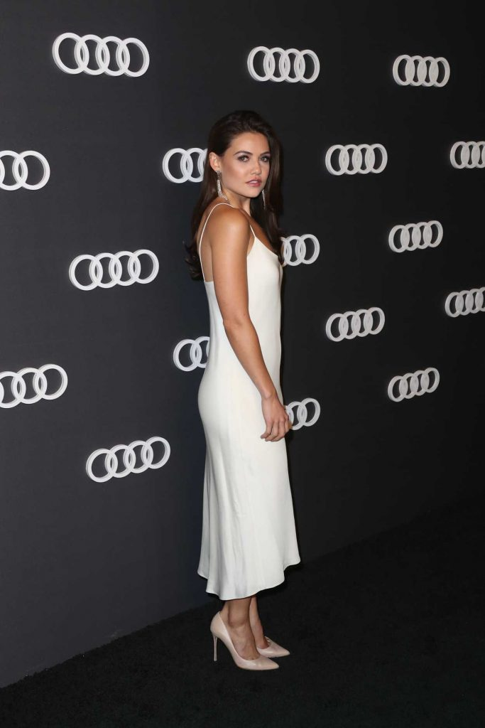 Danielle Campbell at Audi Emmy Party in Los Angeles 09/14/2017-2