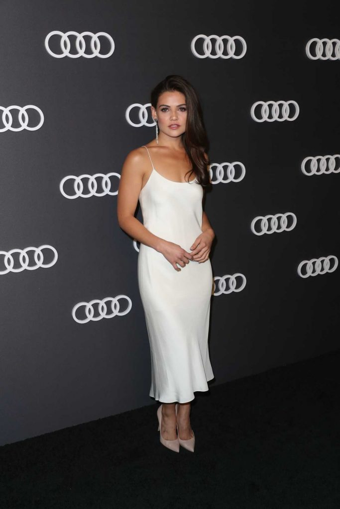 Danielle Campbell at Audi Emmy Party in Los Angeles 09/14/2017-3