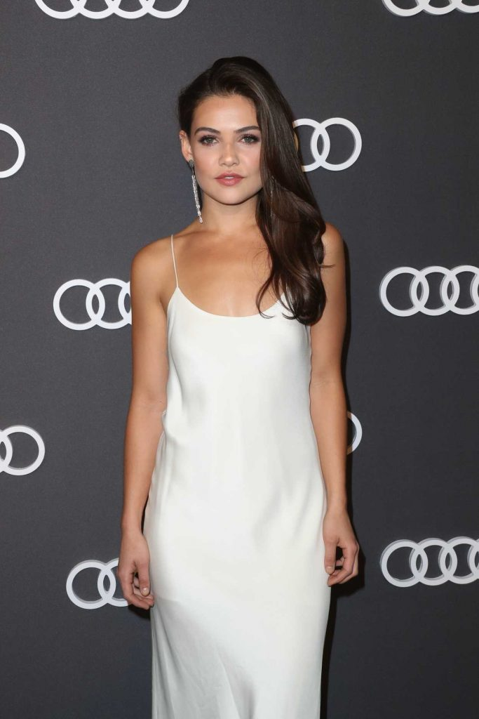 Danielle Campbell at Audi Emmy Party in Los Angeles 09/14/2017-4