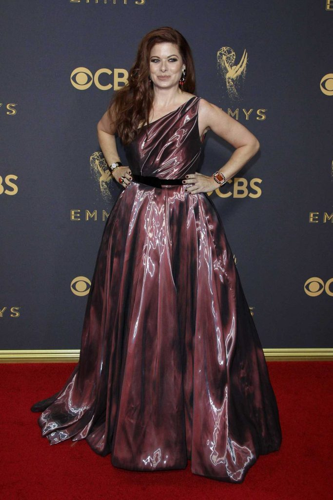 Debra Messing at the 69th Annual Primetime Emmy Awards in Los Angeles 09/17/2017-2