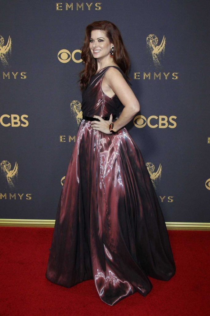 Debra Messing at the 69th Annual Primetime Emmy Awards in Los Angeles 09/17/2017-3