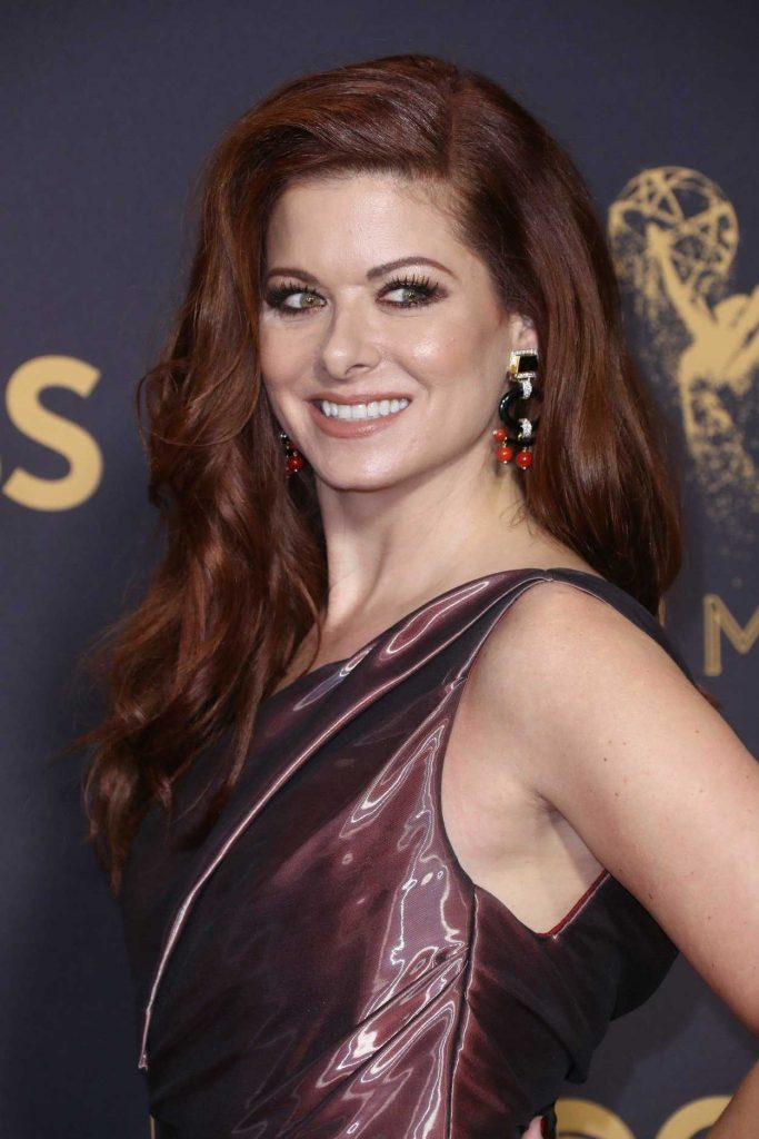 Debra Messing at the 69th Annual Primetime Emmy Awards in Los Angeles 09/17/2017-4