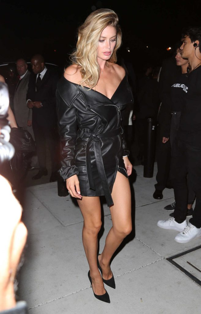 Doutzen Kroes Leaves Mert and Marcus Book Launch in NYC 09/08/2017-1
