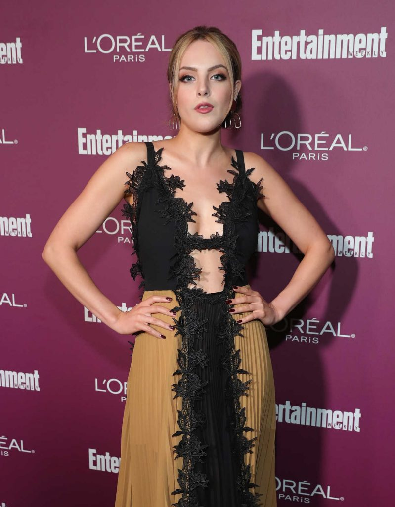 Elizabeth Gillies at the 2017 Entertainment Weekly Pre-Emmy Party in West Hollywood 09/15/2017-2