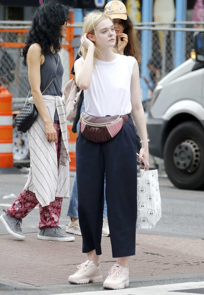 Elle Fanning Was Seen Out in NYC 09/21/2017-1
