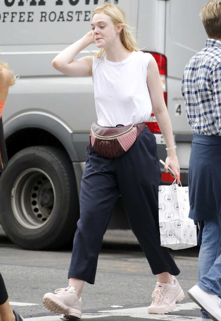 Elle Fanning Was Seen Out in NYC 09/21/2017-2