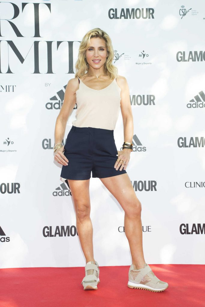 Elsa Pataky Attends the Glamour Sport Summit Photocall at Residencia de Estudiantes in Madrid 09/23/2017-2