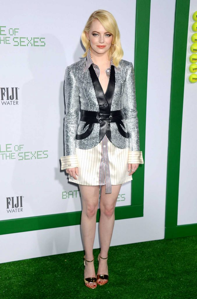 Emma Stone at Battle of the Sexes Premiere in Los Angeles 09/16/2017-1