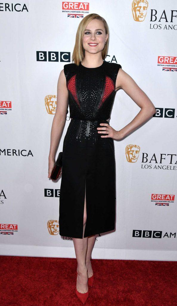 Evan Rachel Wood at BAFTA Tea Party in Los Angeles 09/16/2017-2
