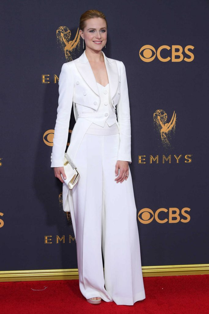 Evan Rachel Wood at the 69th Annual Primetime Emmy Awards in Los Angeles 09/17/2017-2