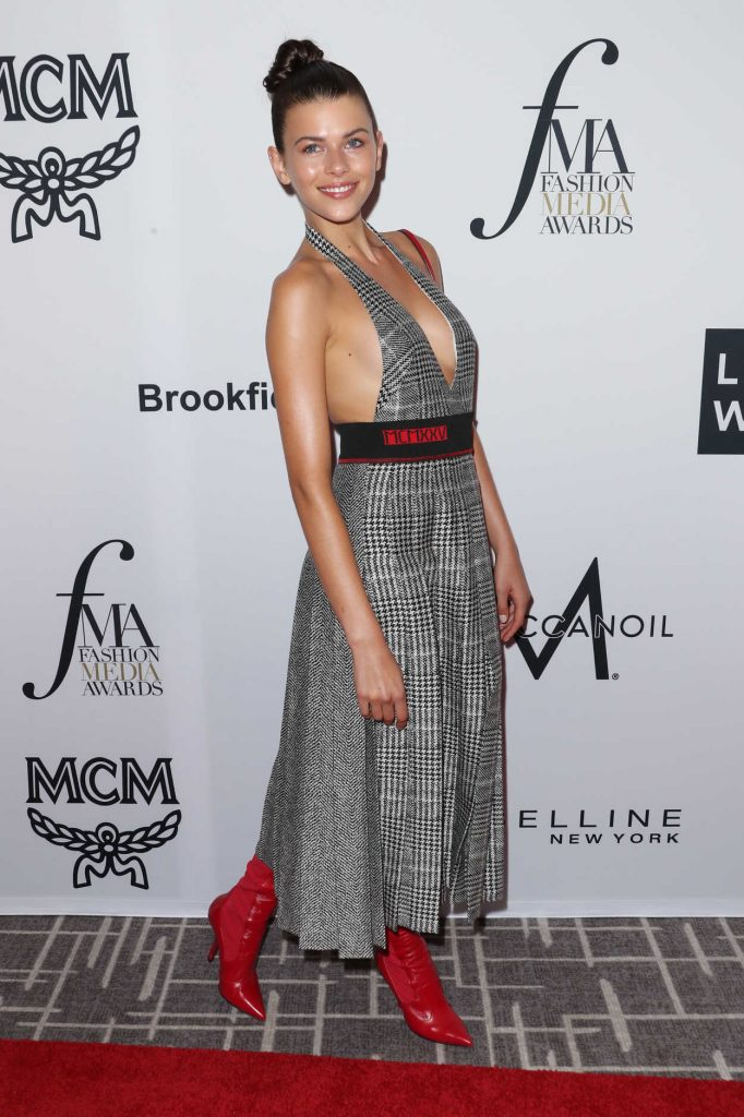 Georgia Fowler at Daily Front Row Fashion Awards During New York Fashion Week 09/08/2017-2