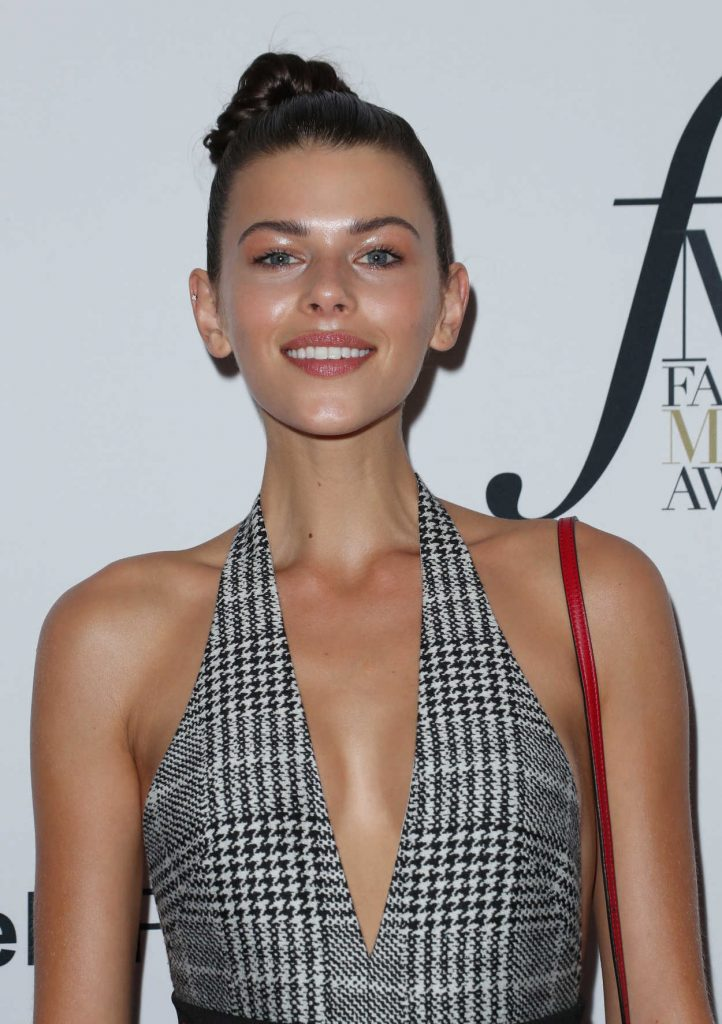 Georgia Fowler at Daily Front Row Fashion Awards During New York Fashion Week 09/08/2017-5