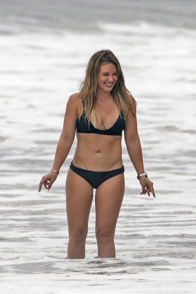 Hilary Duff in Bikini at the Beach in Malibu 09/04/2017-2
