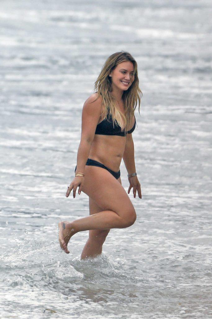 Hilary Duff in Bikini at the Beach in Malibu 09/04/2017-3