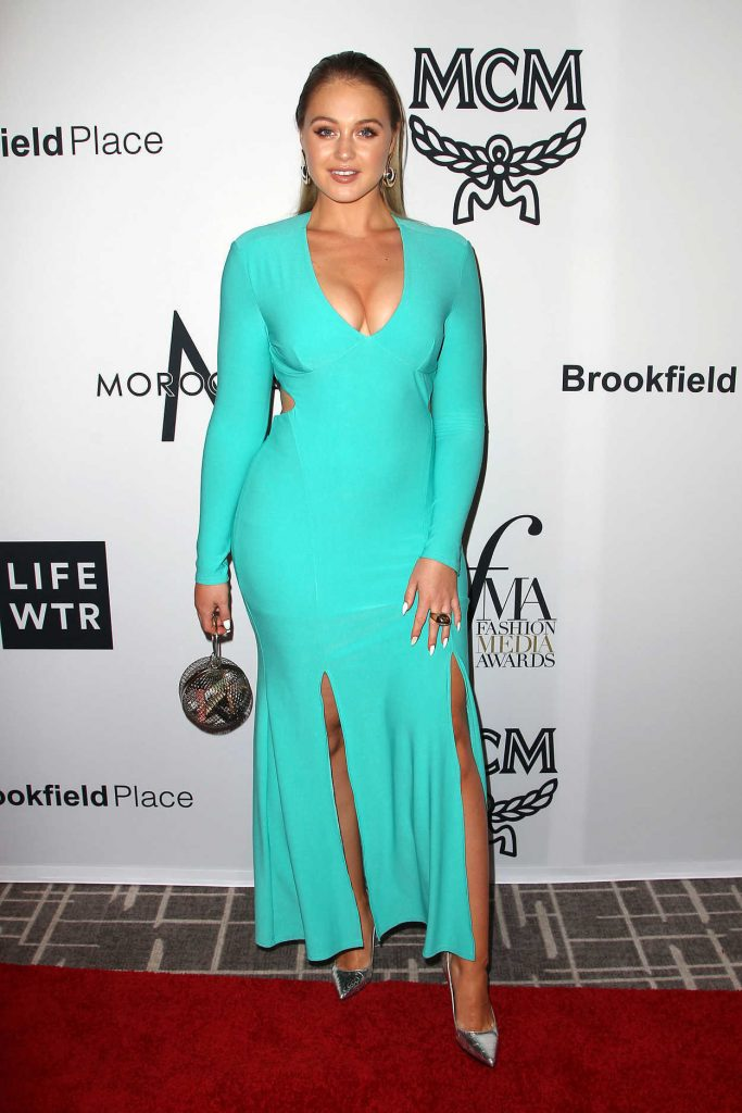 Iskra Lawrence at Daily Front Row Fashion Awards During New York Fashion Week 09/08/2017-1