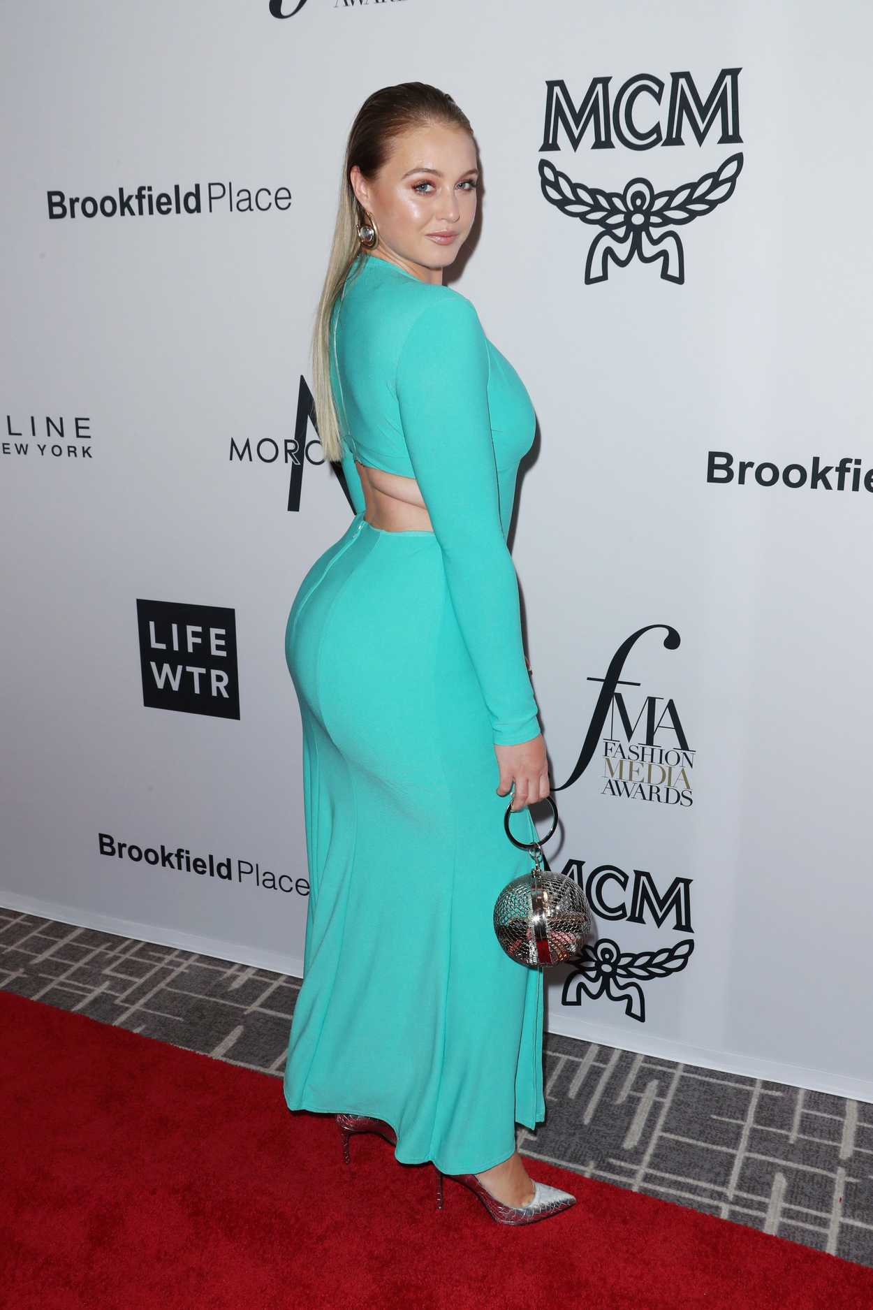 Iskra Lawrence At Daily Front Row Fashion Awards During New York Fashion Week 09 08 2017