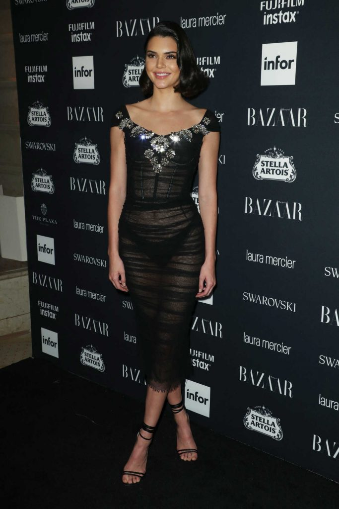 Kendall Jenner at Harper's Bazaar ICONS Party During New York Fashion Week 09/08/2017-1