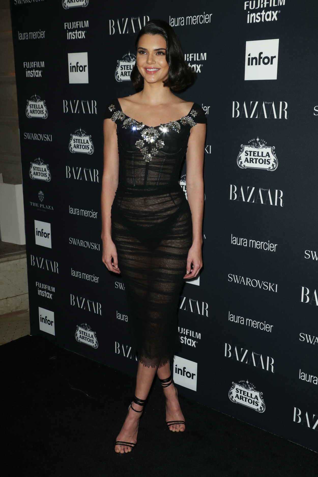 Kendall Jenner At Harper S Bazaar Icons Party During New