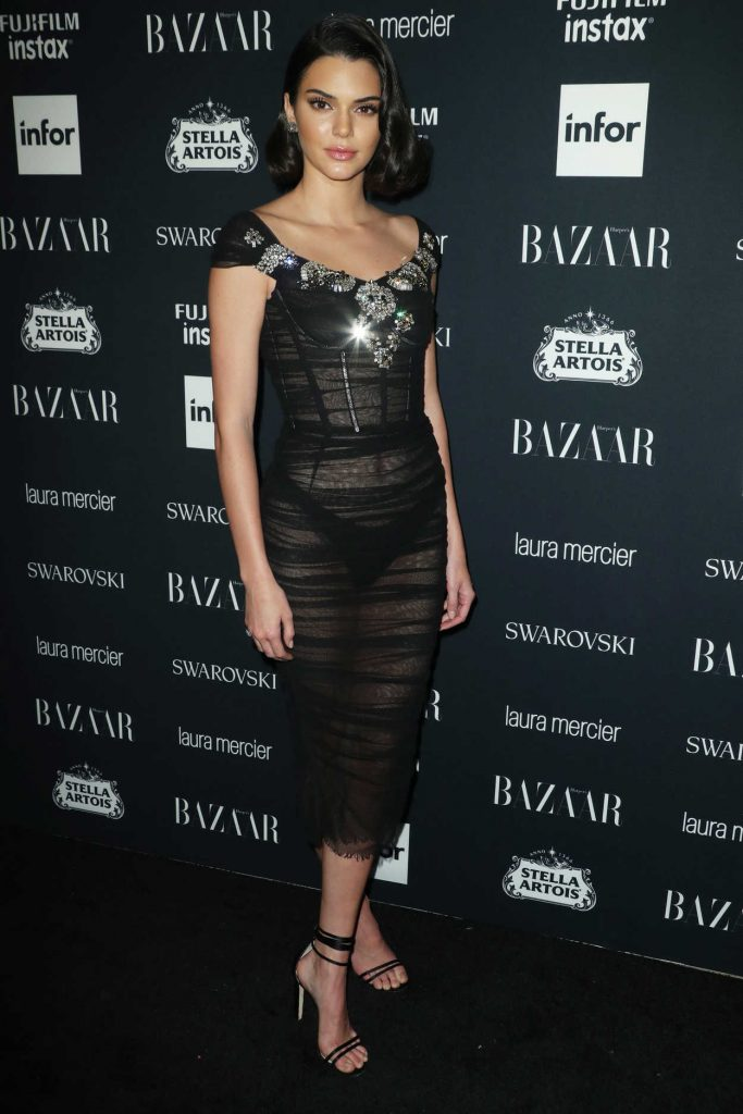Kendall Jenner at Harper's Bazaar ICONS Party During New York Fashion Week 09/08/2017-2