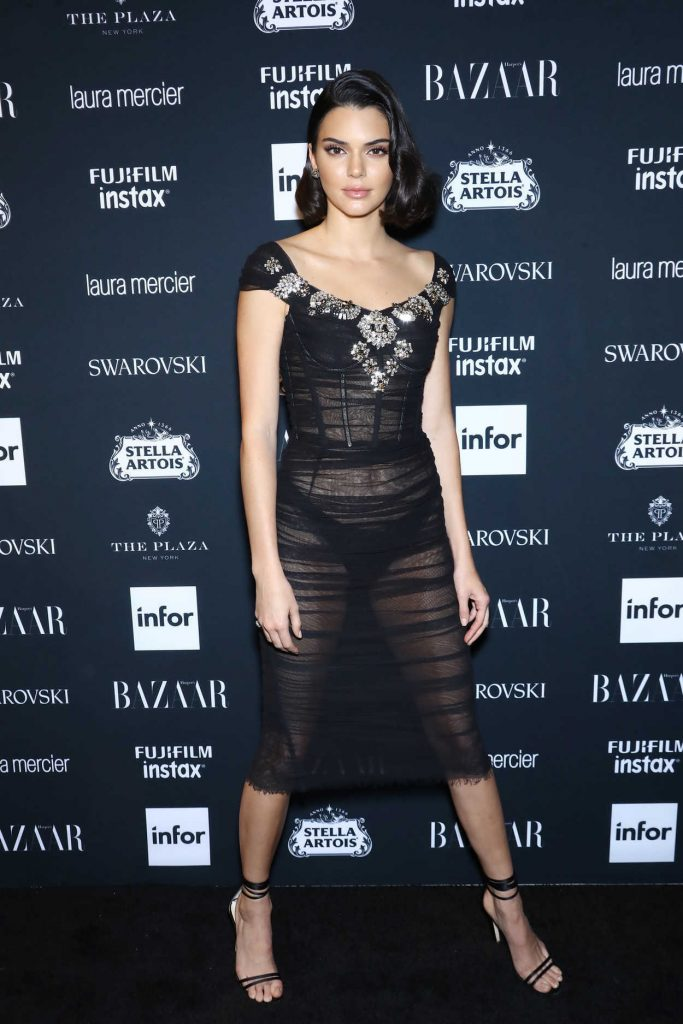 Kendall Jenner at Harper's Bazaar ICONS Party During New York Fashion Week 09/08/2017-4