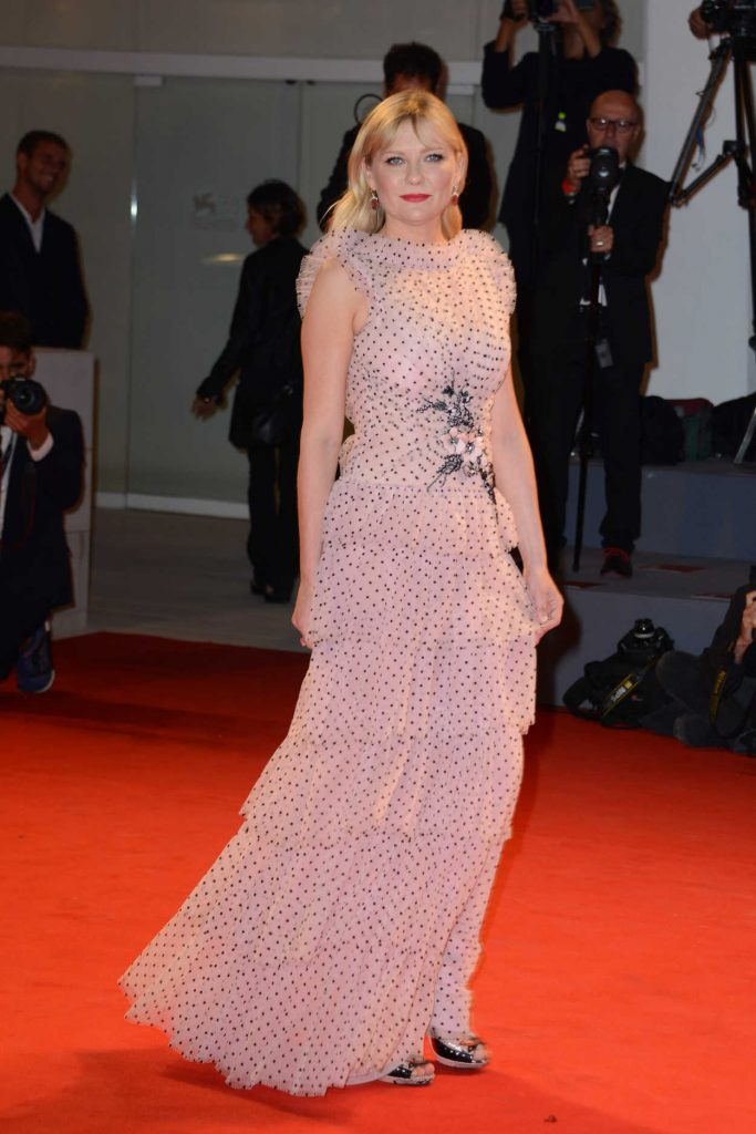 Kirsten Dunst at the Three Billboards Outside Ebbing, Missouri Premiere During the 74th Venice International Film Festival in Italy 09/04/2017-3