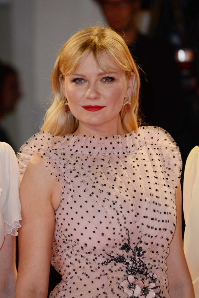 Kirsten Dunst at the Three Billboards Outside Ebbing, Missouri Premiere During the 74th Venice International Film Festival in Italy 09/04/2017-5