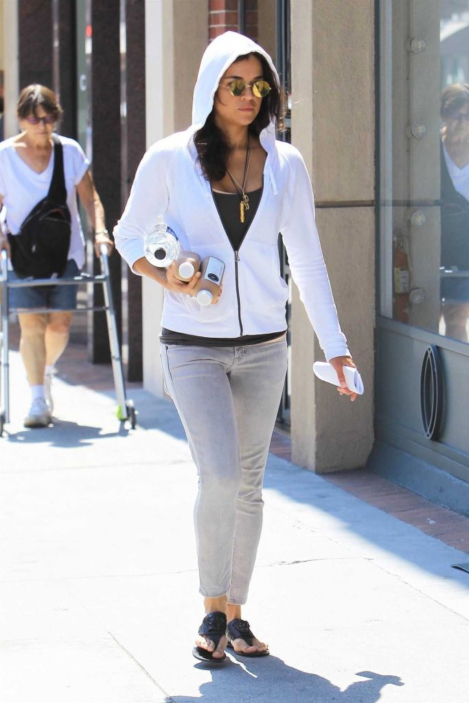 Michelle Rodriguez Was Seen Out in Beverly Hills 08/30/2017-1
