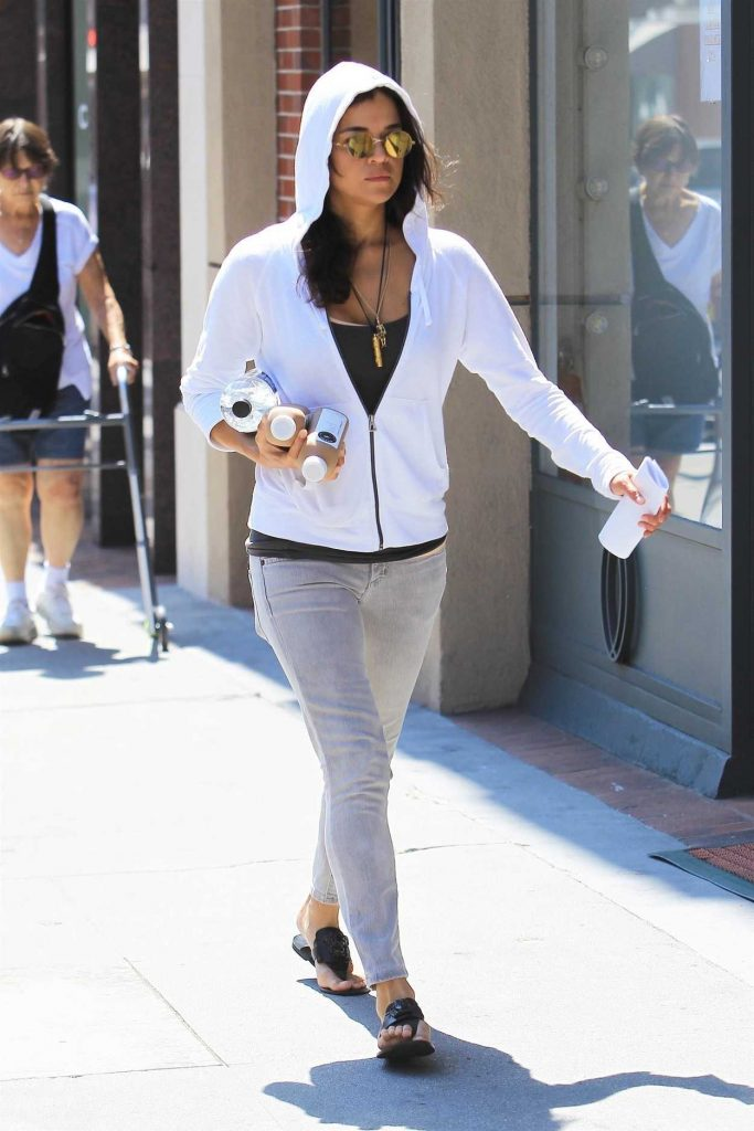 Michelle Rodriguez Was Seen Out in Beverly Hills 08/30/2017-2