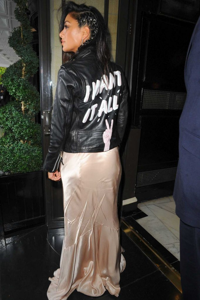 Nicole Scherzinger Arrives for Perfume Launch at Dorchester Hotel in London 08/31/2017-3
