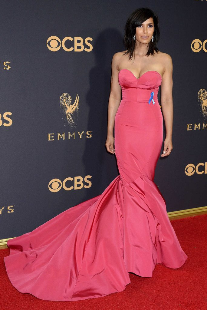 Padma Lakshmi at the 69th Annual Primetime Emmy Awards in Los Angeles 09/17/2017-1