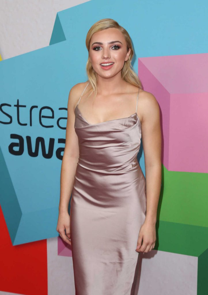 Peyton List at the 2017 Streamy Awards in Beverly Hills 09/26/2017-2