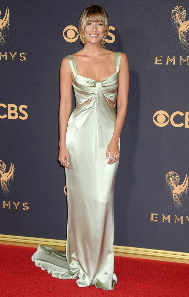 Renee Bargh at the 69th Annual Primetime Emmy Awards in Los Angeles 09/17/2017-1