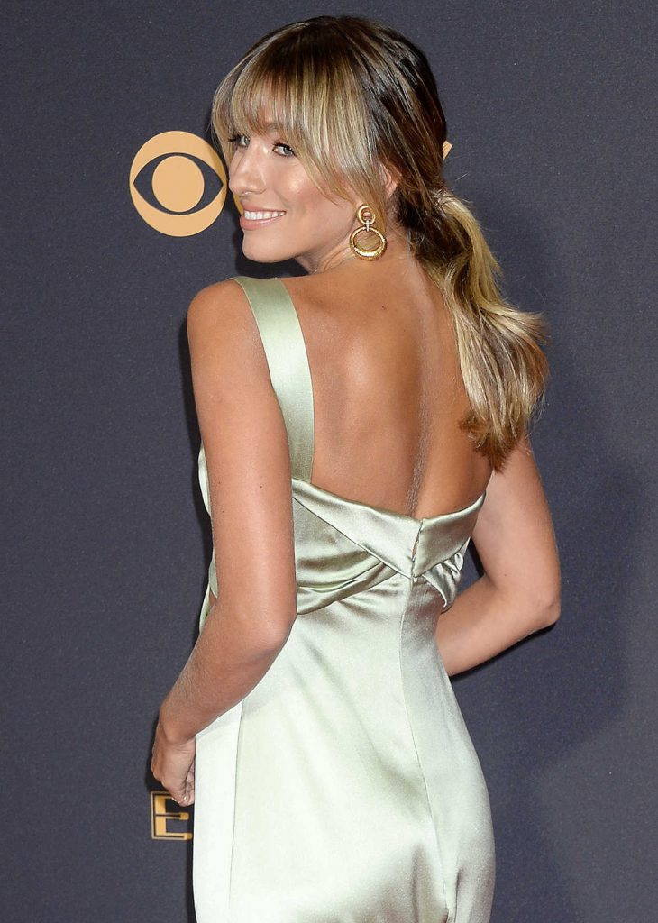 Renee Bargh at the 69th Annual Primetime Emmy Awards in Los Angeles 09/17/2017-3