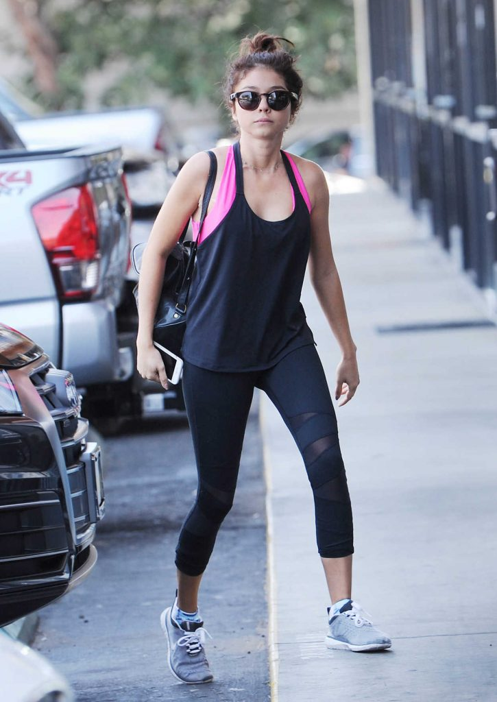 Sarah Hyland Heading to Exercise at the Gym in LA 09/01/2017-1
