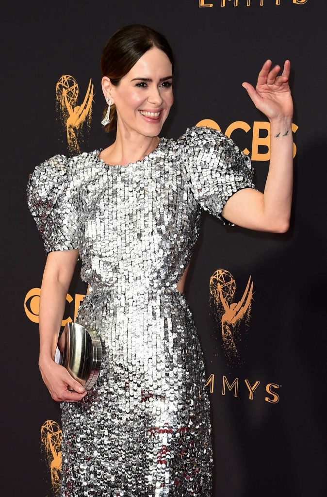 Sarah Paulson at the 69th Annual Primetime Emmy Awards in Los Angeles 09/17/2017-1
