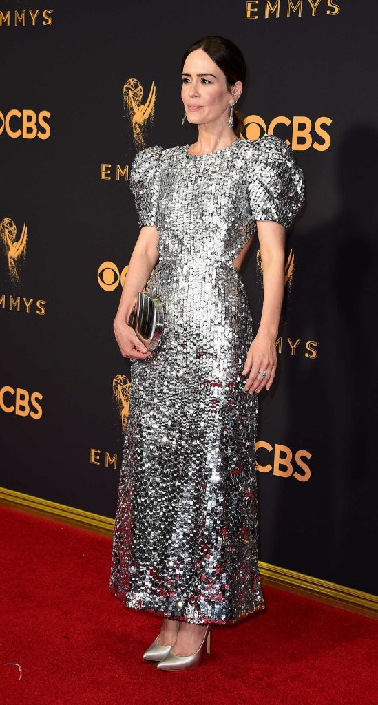 Sarah Paulson at the 69th Annual Primetime Emmy Awards in Los Angeles 09/17/2017-3