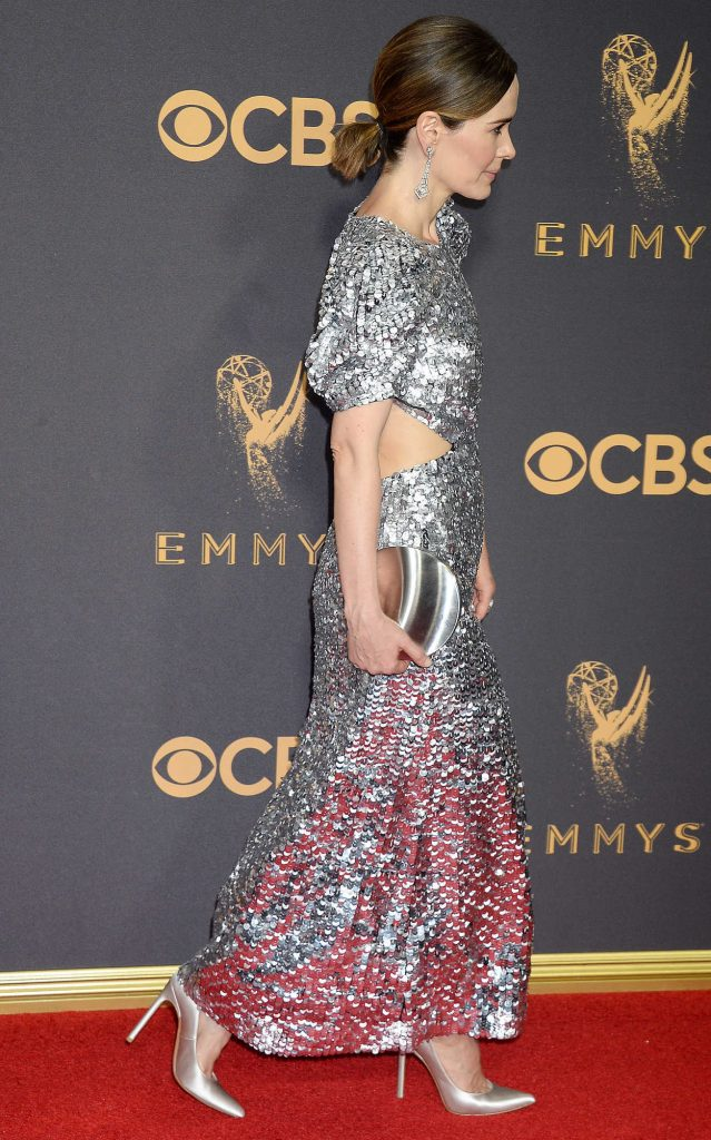 Sarah Paulson at the 69th Annual Primetime Emmy Awards in Los Angeles 09/17/2017-5