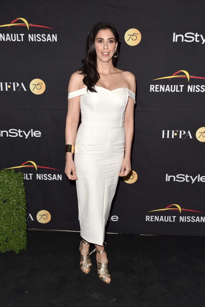 Sarah Silverman at HFPA and InStyle Annual Celebration During Toronto International Film Festival 09/09/2017-1