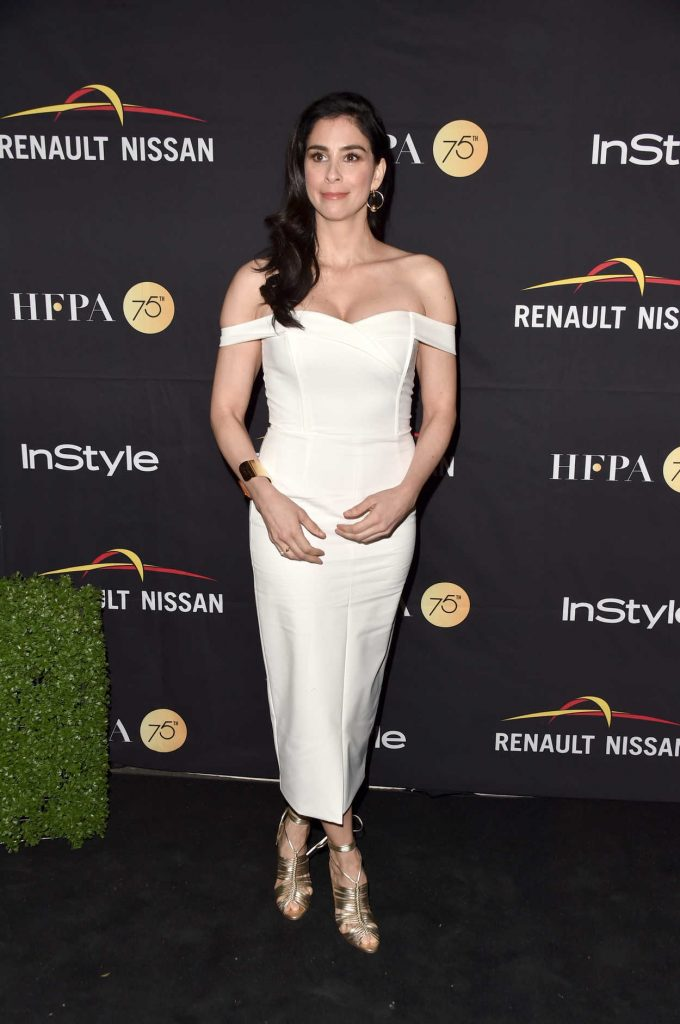 Sarah Silverman at HFPA and InStyle Annual Celebration During Toronto International Film Festival 09/09/2017-2