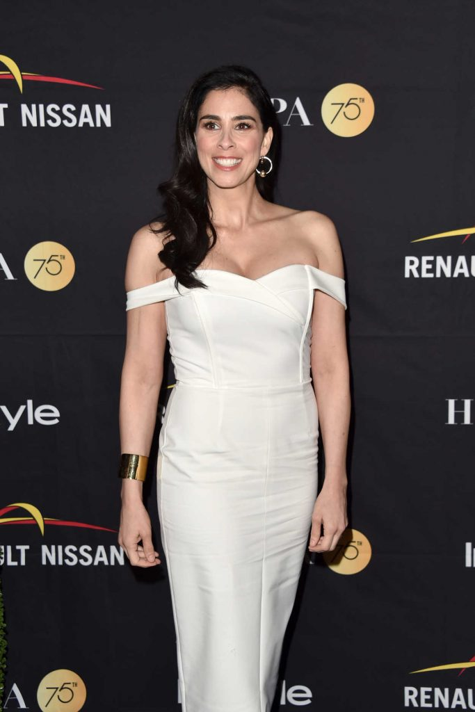Sarah Silverman at HFPA and InStyle Annual Celebration During Toronto International Film Festival 09/09/2017-3