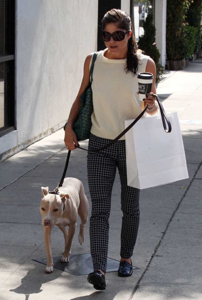 Selma Blair Was Seen With Her Dog Out in Los Angeles 09/20/2017-2