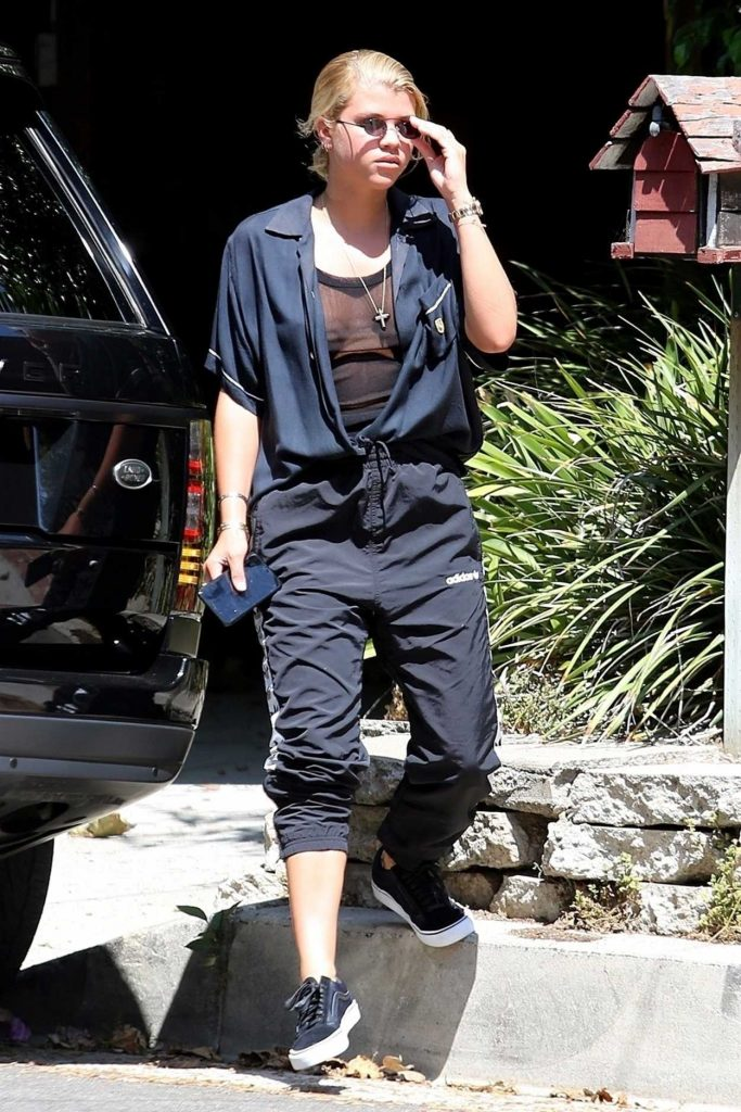 Sofia Richie Was Seen Out in Beverly Hills 09/01/2017-1