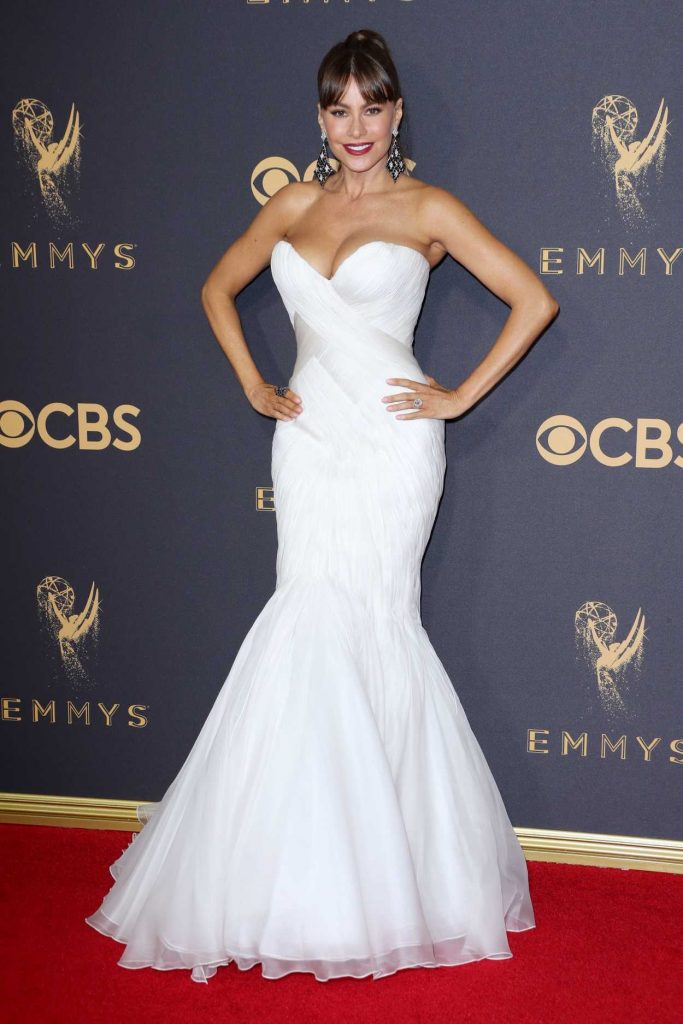 Sofia Vergara at the 69th Annual Primetime Emmy Awards in Los Angeles-1