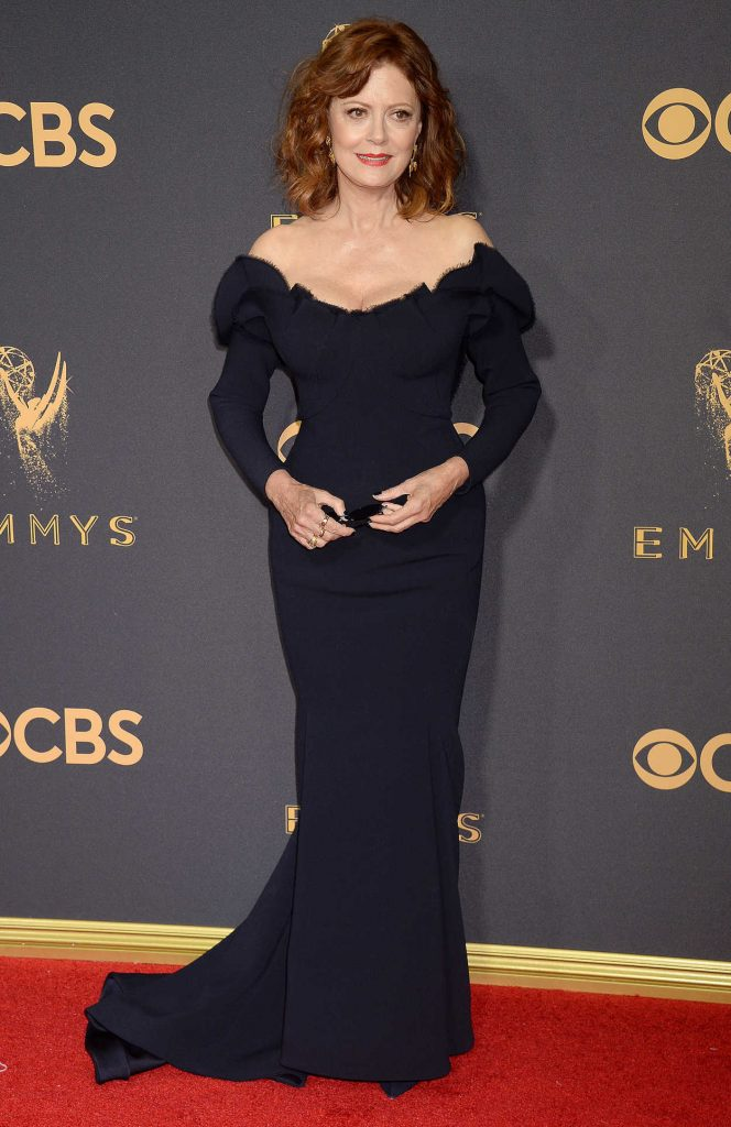 Susan Sarandon at the 69th Annual Primetime Emmy Awards in Los Angeles 09/17/2017-1