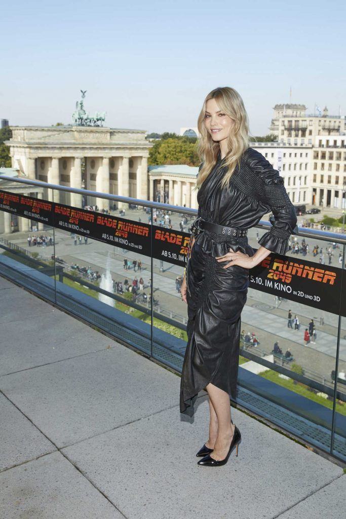 Sylvia Hoeks at the Blade Runner 2049 Photocall in Berlin 09/17/2017-1