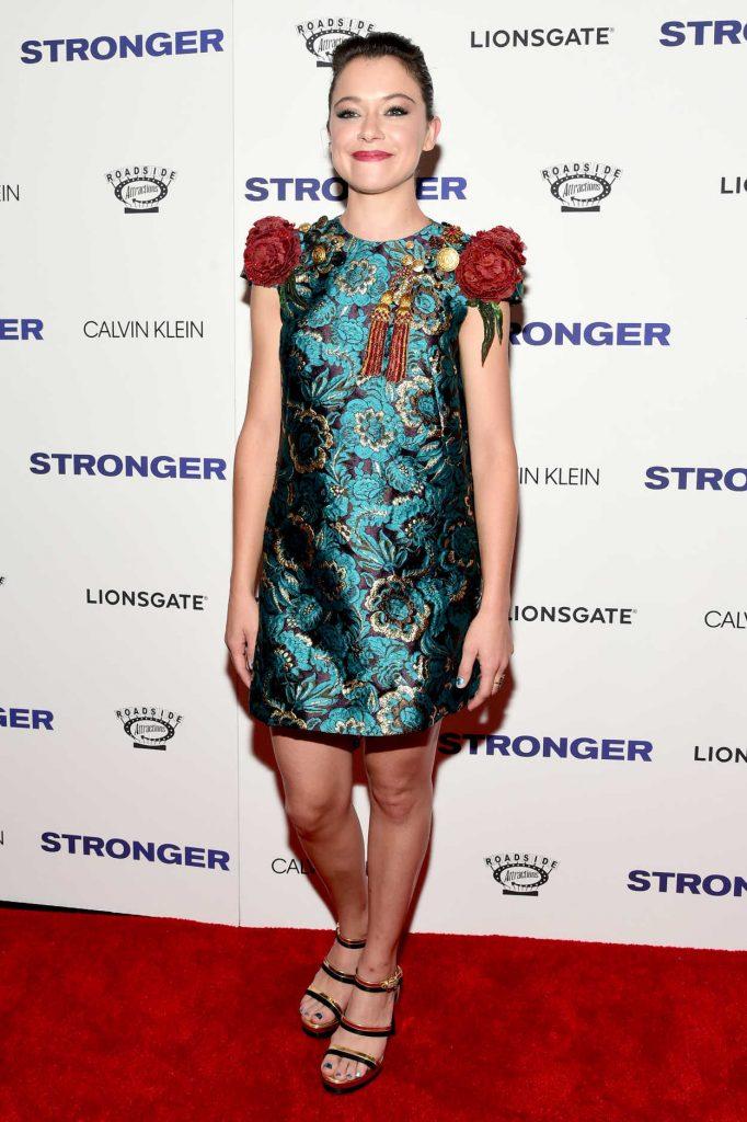 Tatiana Maslany at Stronger Premiere in New York 09/14/2017-1